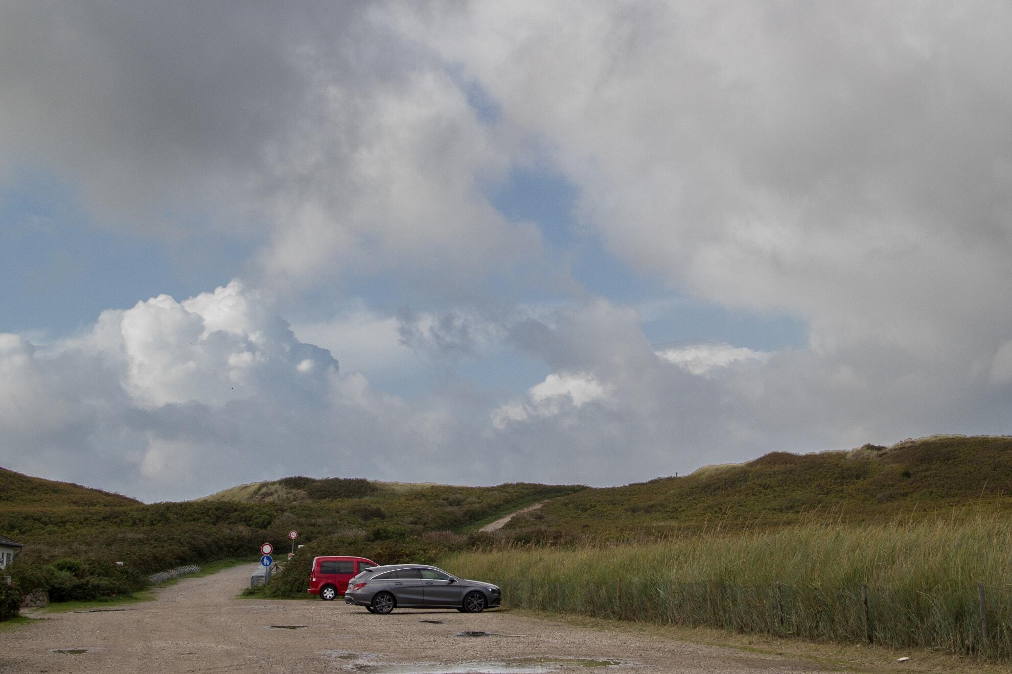 Parkplatz am Dünenwall