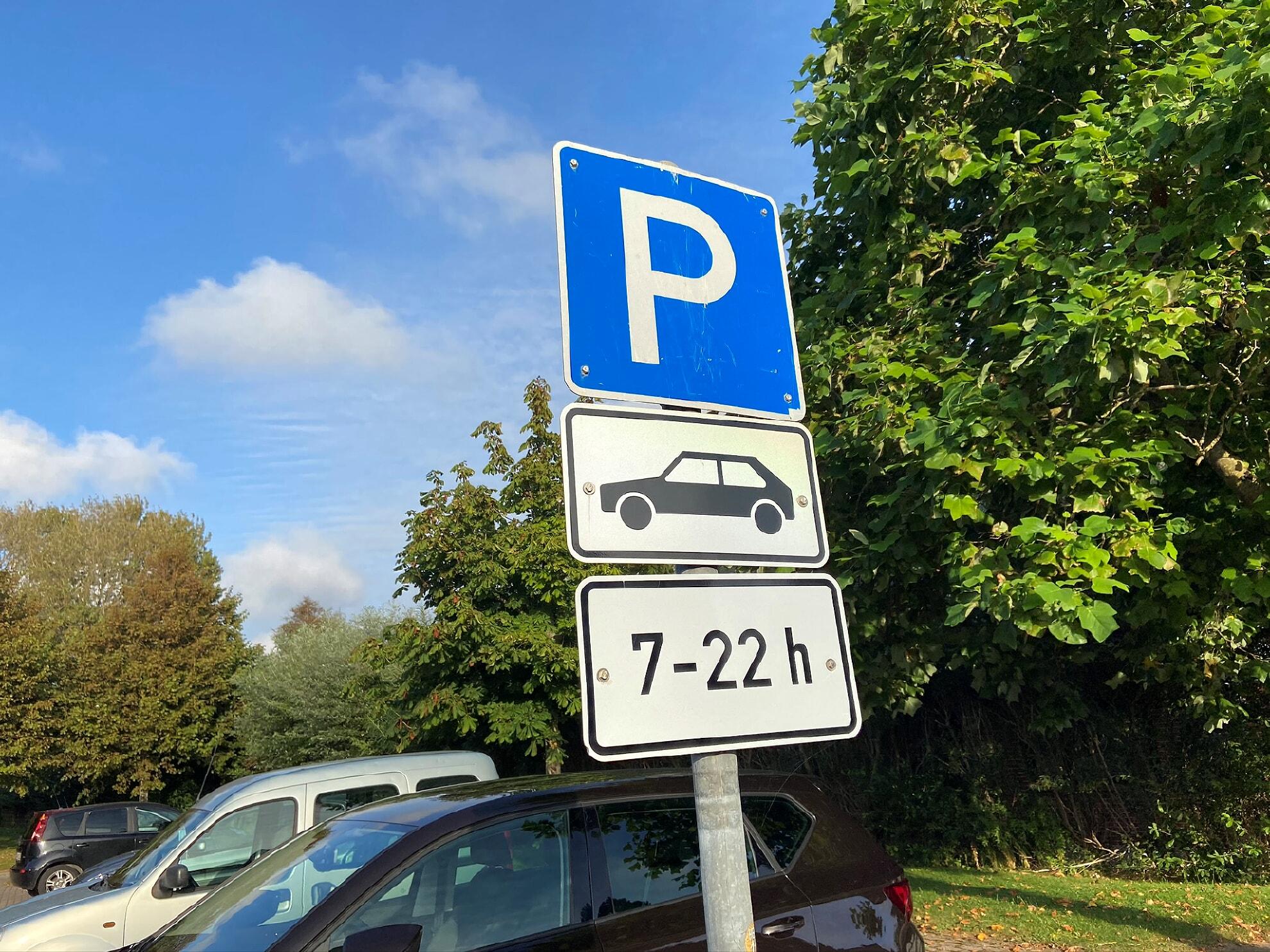 Parkplatz am Tinem Hüs