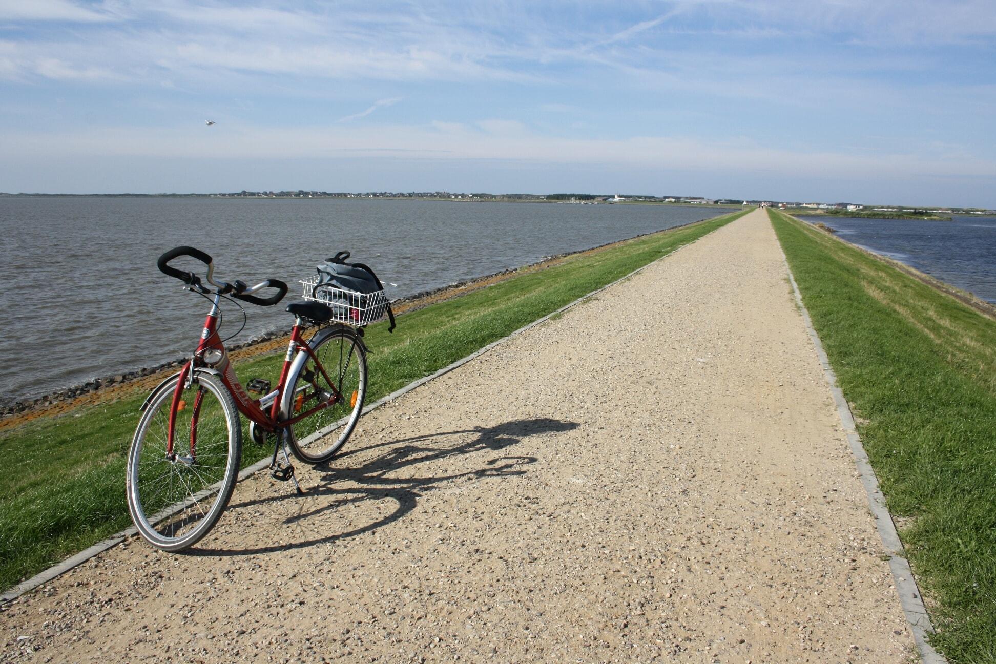 Fahrradtour um das Rantumbecken