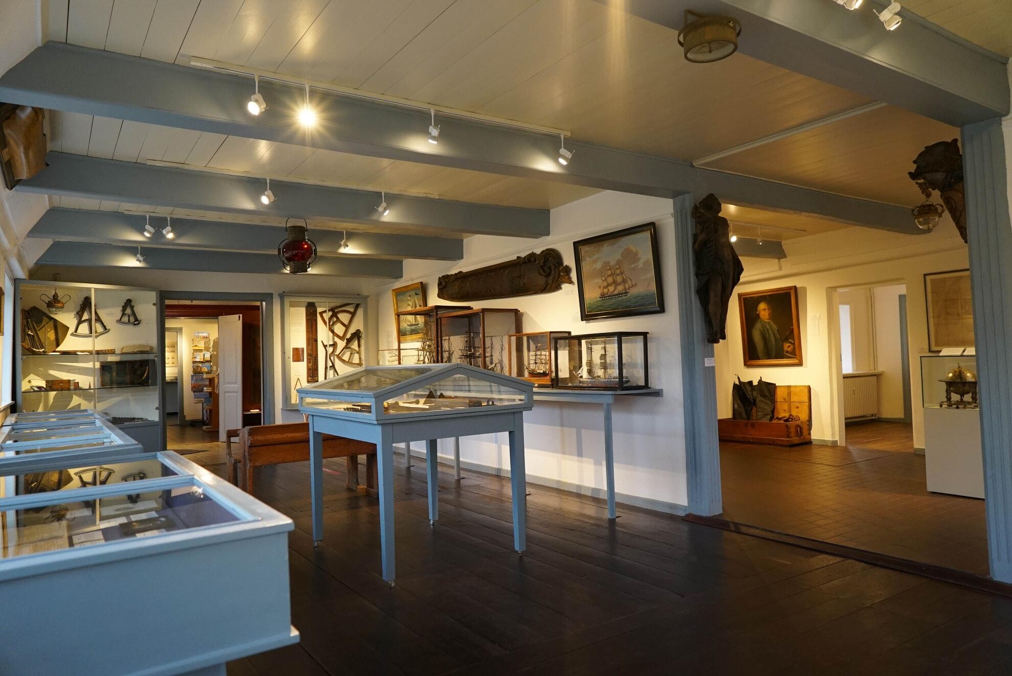 Ausstellung zur Seefahrt im Sylt Museum