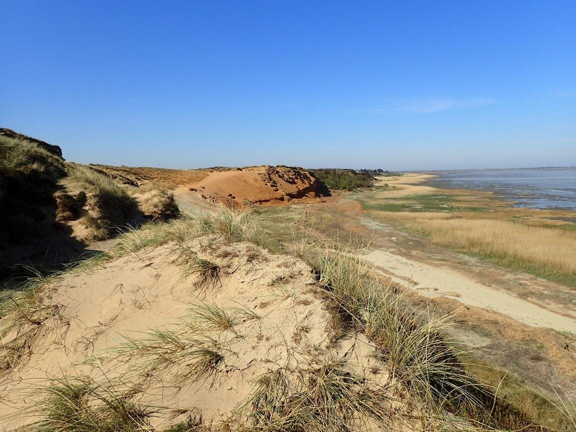 Das Morsum Kliff ist eine geologische Besonderheit.