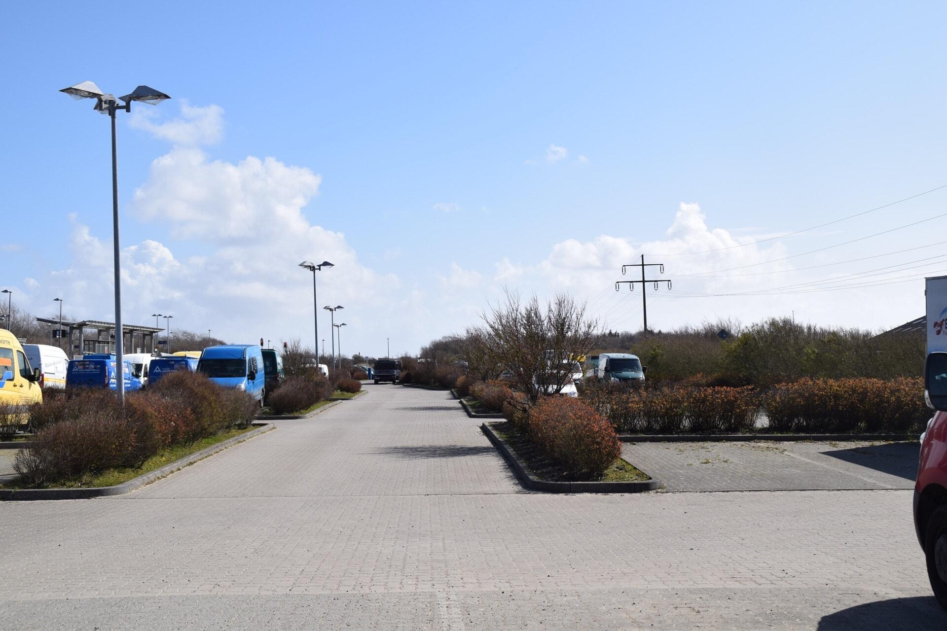 Parkplatz am Keitumer Bahnhof