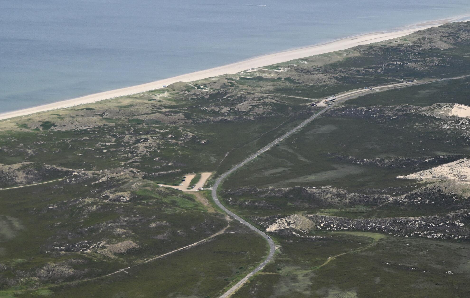 Luftaufnahme Weststrand