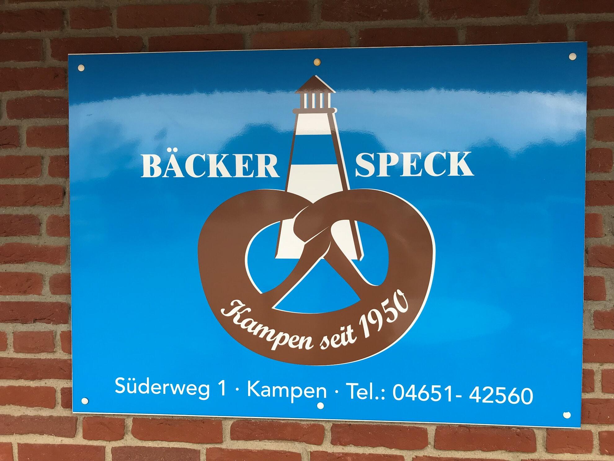 Bäckerei Speck in Kampen