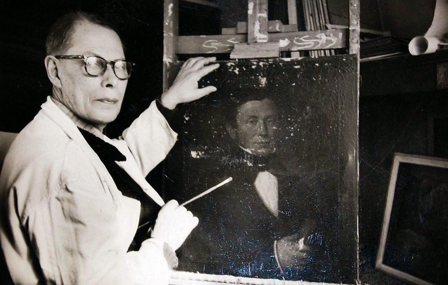 Maler Albert Aereboe