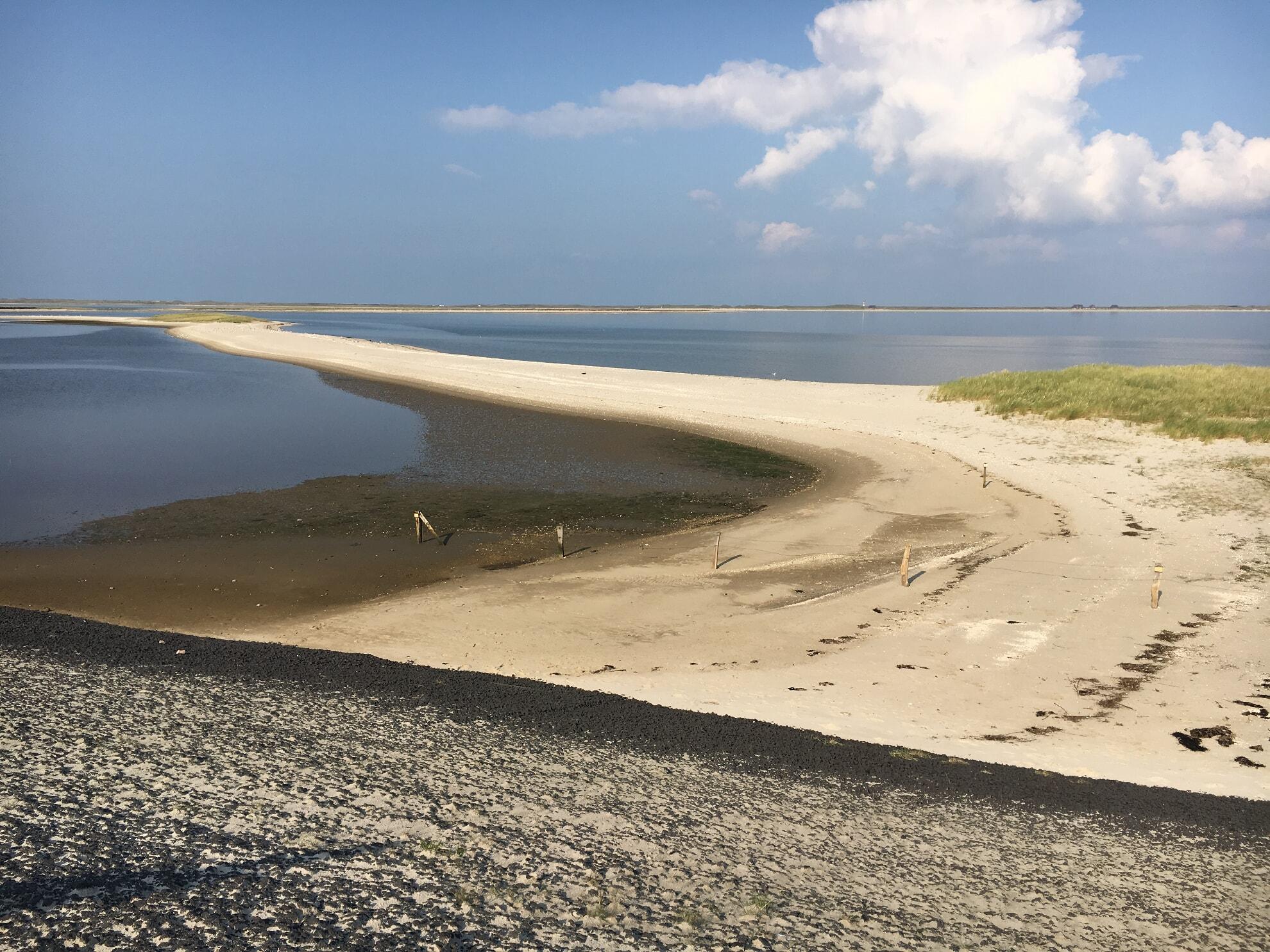 Sandbank am Lister Mövenbergdeich