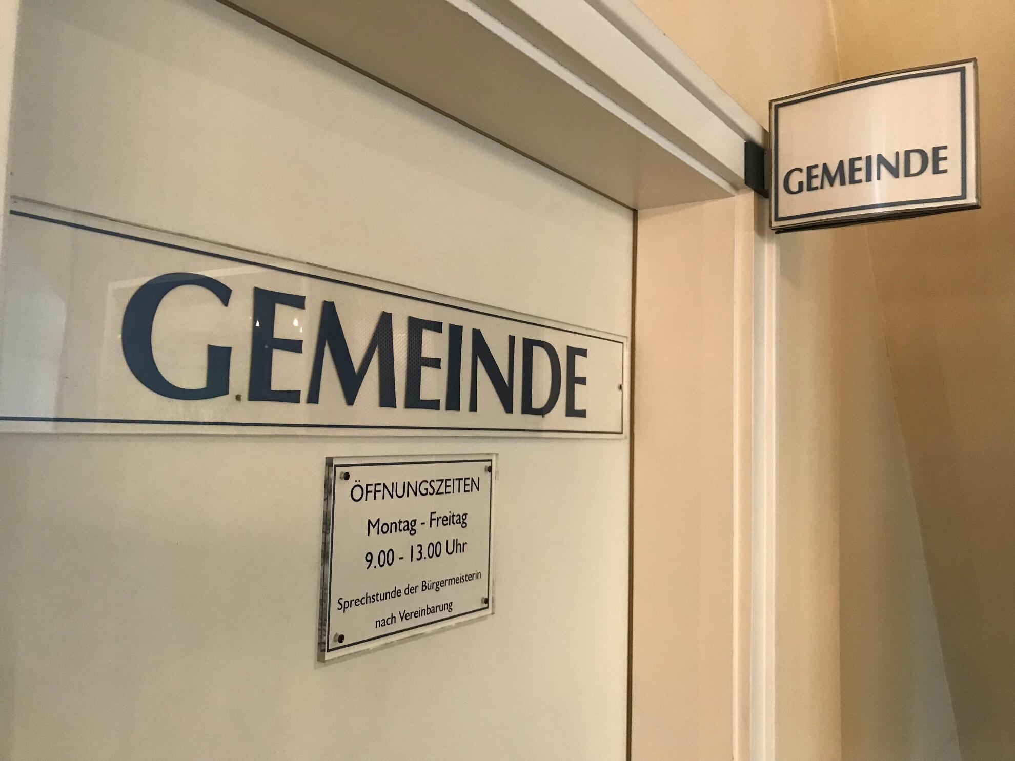 Gemeindebüro in Kampen