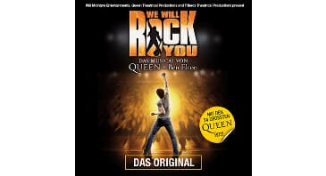 WE WILL ROCK YOU - verlegt vom 29.11.2020, 18:00 Uhr