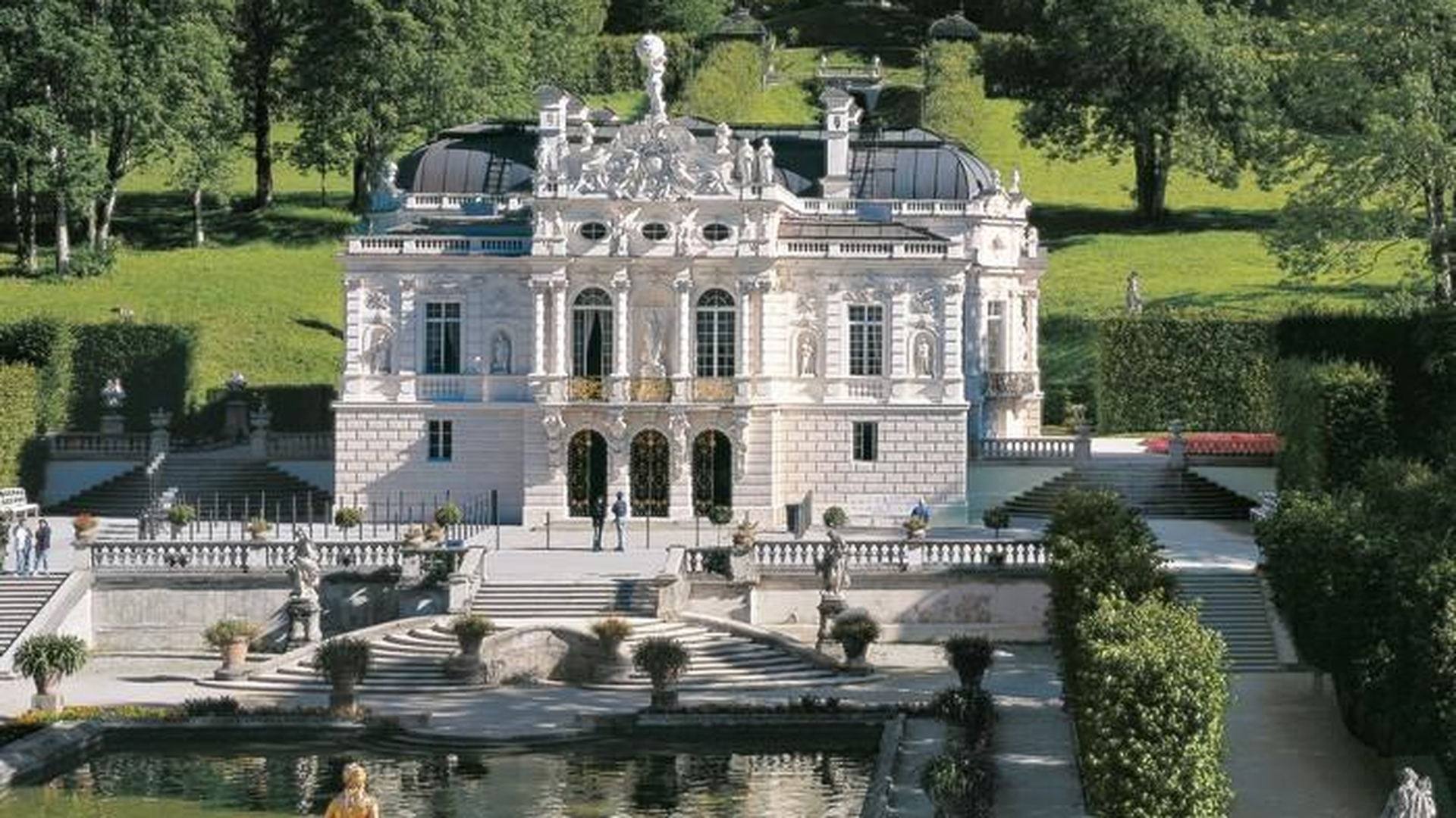 Schloss Park Linderhof