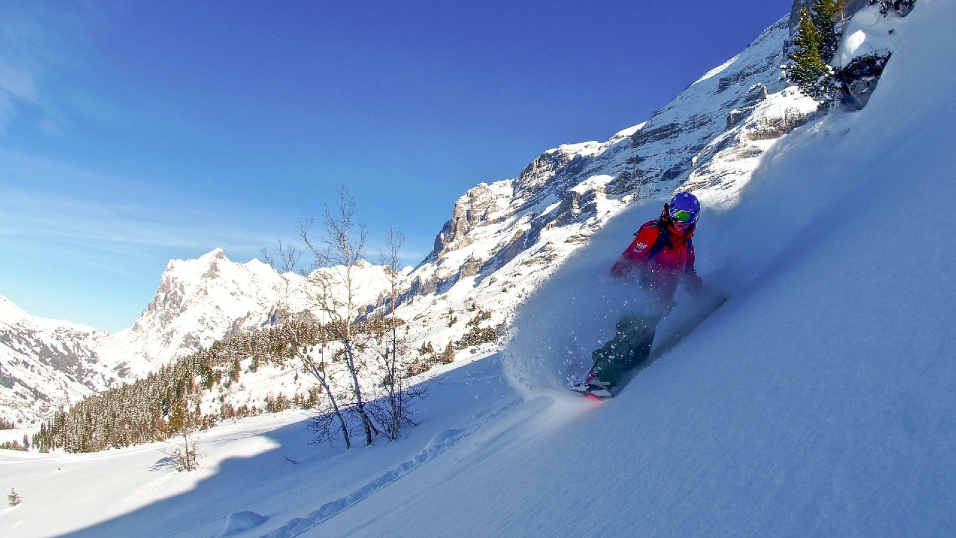 Snowboard en Interlaken