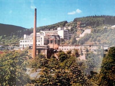 Bergbau-Ausstellung zur Flussspatgrube Gehren im Schobstal